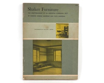1950 Shaker Furniture Catalog  w/William F. Winter Photographs American Primitives