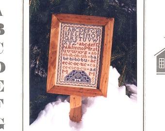 The Quaker Hornbook Cross Stitch Sampler, Sampler Cross Stitch Pattern, Samplers, Cross Stitch Sampler Leaflet, by NewYorkTreasures on Etsy