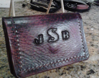 Double Slot Business Credit Card Holder