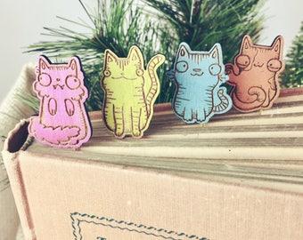 Cat Bookmark - Cat Lover Gift - Cat Paper Clips - Kitty Paper Clips - Kitty Bookmark - Cat bookmarks - Cute cat bookmark - cat paperclips