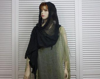 Vintage OOAK Halloween Costume Beggar/Witch