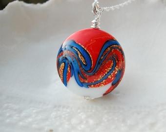 Tricolore Murano Glass Necklace