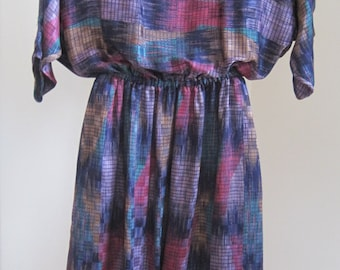 Pure Argenti Dress, Size 8, Polyester, Vintage