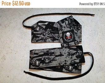 ON SALE Zombies, Walking Dead, Wrist Wraps, WOD, Weightlifting, Athletic