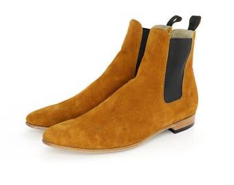 Honey Suede Paul Boots