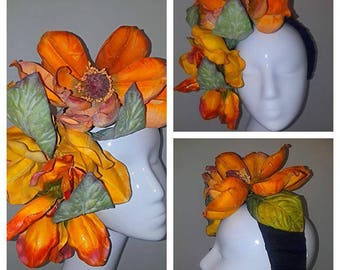 Marigold and orange for band