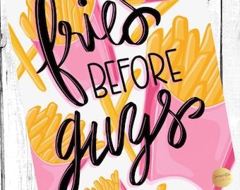 Fries Before Guys Digital File