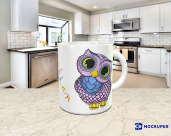 Personalized Owl Mug
