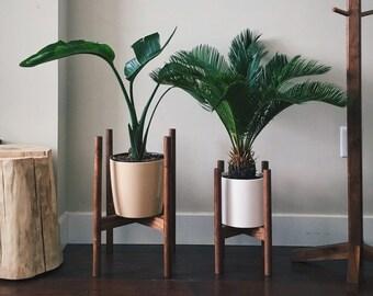 "8"" Midcentury Plant Stand"