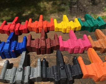 X-Wing Crayons // X-Wing Favors // Star Wars Party // Star Wars Favors // Star Wars Kids Party // Birthday Party Favor // Star Wars Birthday