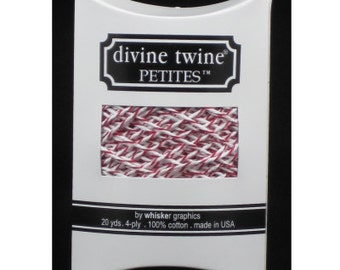 NEW- Divine Twine Petites (20yards)- CHERRY