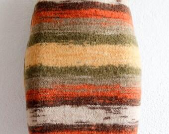 Handmade cotton crochet skirt, bohemian skirt, Handmade crochet womens skirt, boho skirts, midi skirt, colorful, autumn colors