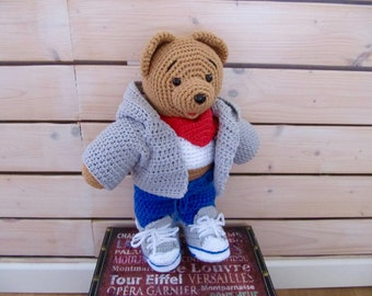 bear Teddy crochet for baby