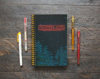Medium Monthly Planner (120-Pages) | 24 Months | No Weekly Pages | Stranger Things Planner