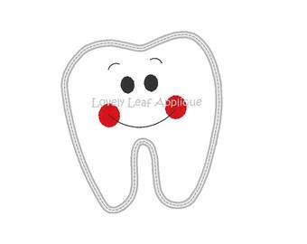 DIGITAL ITEM: Tooth Applique Design