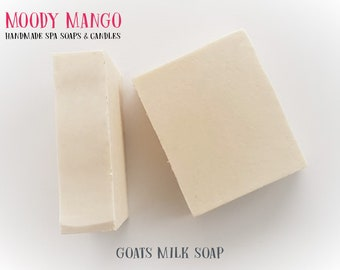 No8. Handmade 'GOATS MILK' SOAP - Unscented