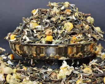 Green Tea and Chamomile - Green Tea - Tea - Loose Leaf  Tea