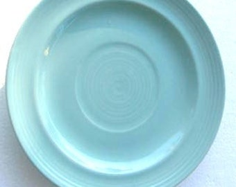 New Fiesta-Turquoise Color Salad Side Plate by Homer Laughlin- Beautiful