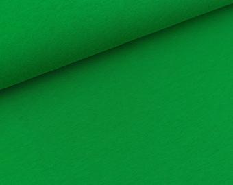 Ganzjahressweat Eike Grass Green (13.90 EUR/meter)