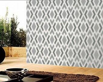 Stencil - GEOMETRIC Pattern no. 1 - Modern Wall STENCIL - Easy DIY Home Decor - Reusable