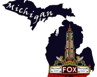 Michigan: Fox Theatre
