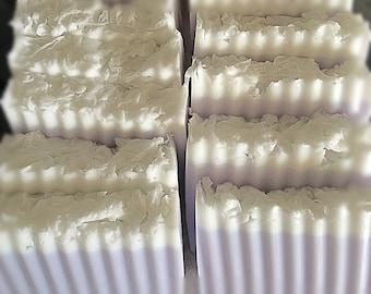 Pre-made lavender soaps