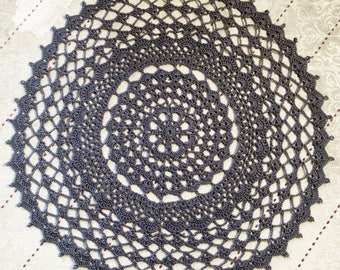 Grid and explanations for old to make crochet doily