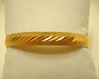 Vintage Monet Bangle Bracelet (9679)