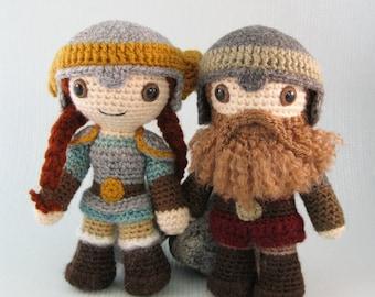 Dwarf - Fantasy Amigurumi Pattern PDF - Crochet Pattern