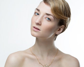 THC molecule necklace Marijuana necklace gold filled chemistry jewelry chemistry necklace molecule necklace minimalist necklace