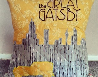 The Great Gatsby Movie Poster Pillow