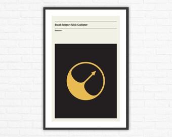 Black Mirror Season 4, Episode 1: USS Callister Minimalist Movie Poster