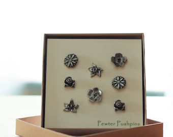 Flower Pushpins-PN134- Gardening and Floral Gifts and Decor