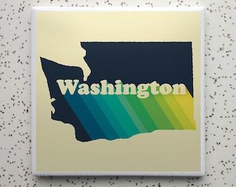 Washington Rise Tile Coaster
