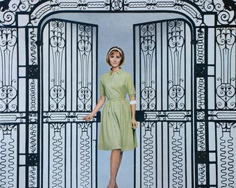 1963 Cokesbury Sportswear Ad - Retro Shirt Dress - 1960's Women's Fashion Ads