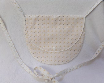 Dandelion motif woman handbag