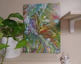 Rainbow Swirl Forest