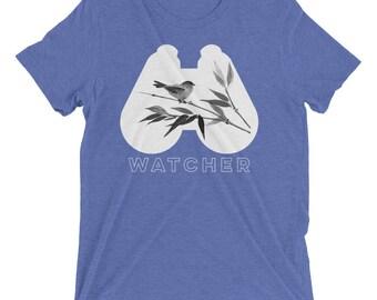 Bird Watcher Binoculars short sleeve t-shirt