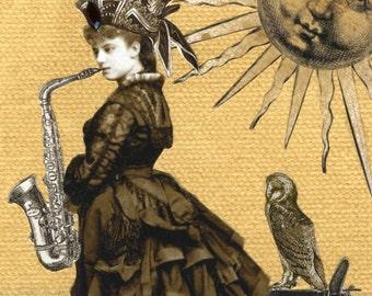 Hassada und ihrem Saxophon