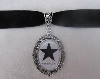 David Bowie Blackstar Logo Choker