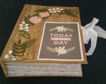 Today Is The Day Wedding Journal, Guest Book, Wedding Album