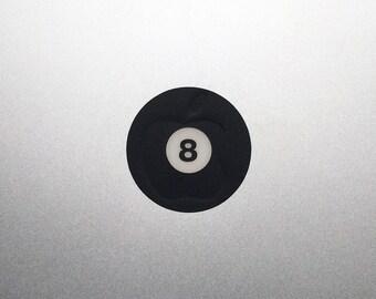 Eight Ball Macbook Decal / 8 Ball Macbook Pro Sticker