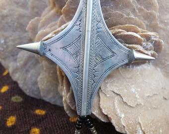Tuareg Marriage Necklace 'Egourou' CROSS Necklace