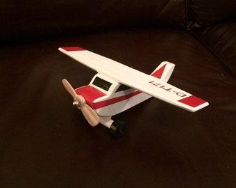 Handmade Wooden Toy Airplane