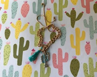 Bracelet Saguaro Cactus Charm
