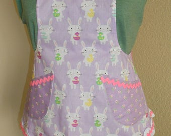 Apron Easter Bunny CHILDS APRON