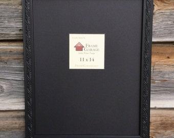 Delicate Black Ornate Frame