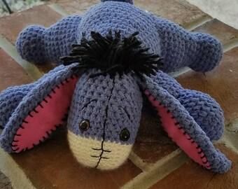 Eeyore Inspired Cuddly Plush Animal