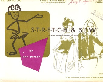 Stretch & Sew 300 Sewing Patern   ID 57