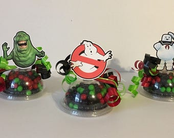 Ghostbusters Party Favor Candy Containers Set Of 8 Empty